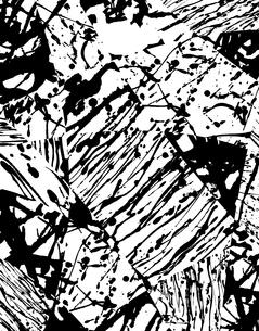 抽象絵画的パターンのイラスト素材 [FYI04133509]