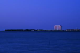 浦安市日の出の夜明けの写真素材 [FYI04134164]