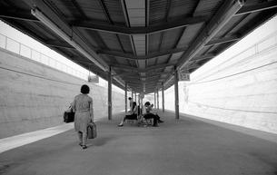 横浜・洋光台駅ホームの写真素材 [FYI04134383]