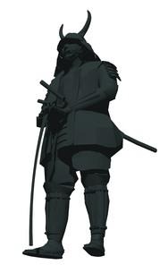戦国武将のイラスト素材 [FYI04134552]