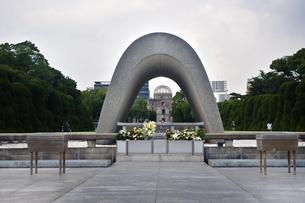 原爆慰霊碑の写真素材 [FYI04134852]
