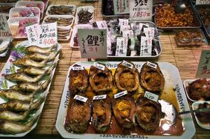 魚屋,,,錦市場の写真素材 [FYI04134940]