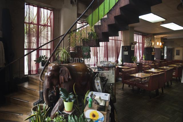 レトロな喫茶店の写真素材 [FYI04135054]
