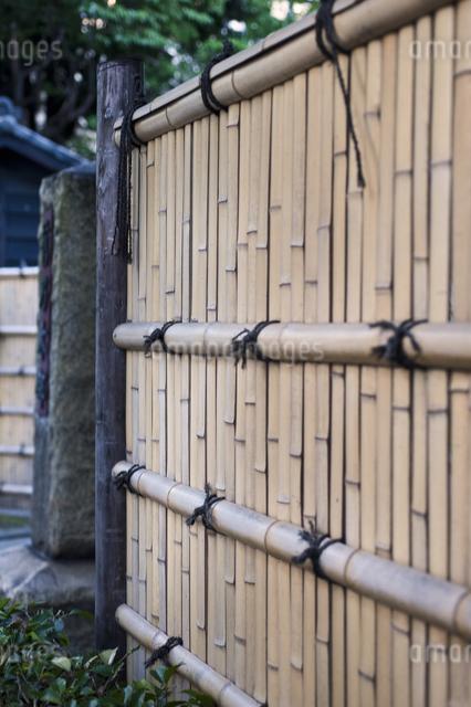 竹塀の写真素材 [FYI04135109]