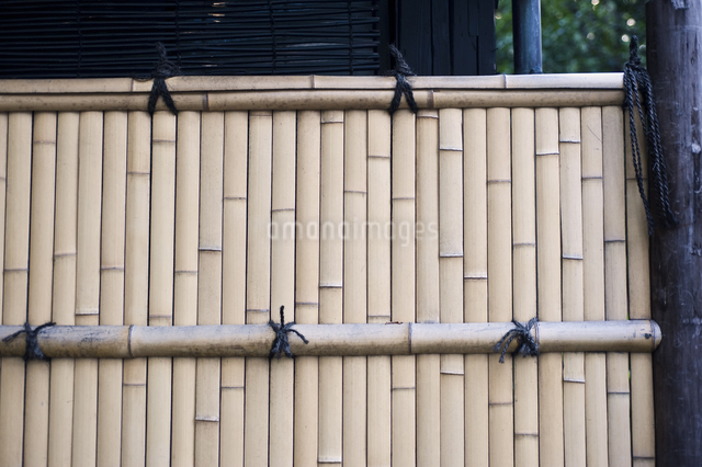 竹塀の写真素材 [FYI04135110]