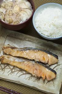 鮭の西京焼の写真素材 [FYI04135185]