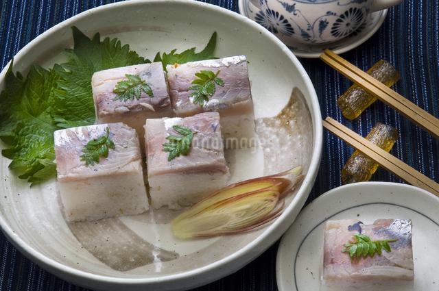 アジ寿司の写真素材 [FYI04135190]