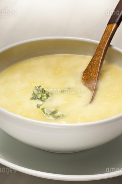 コーンスープの写真素材 [FYI04135253]