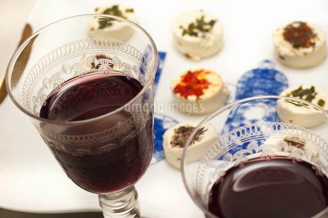 ワインとチーズの写真素材 [FYI04135269]