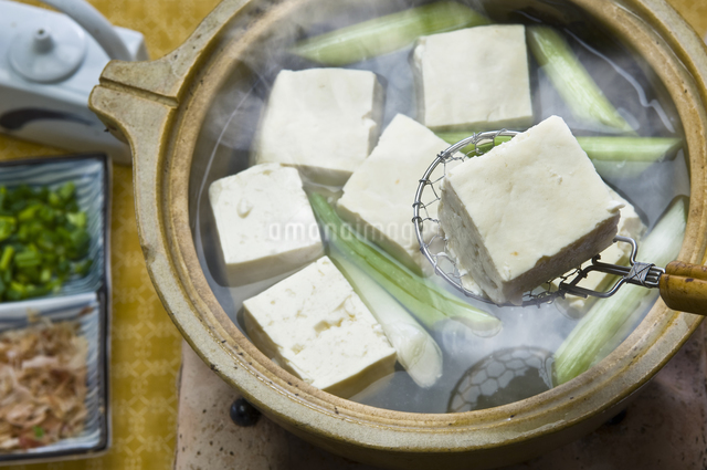 湯豆腐の写真素材 [FYI04135386]