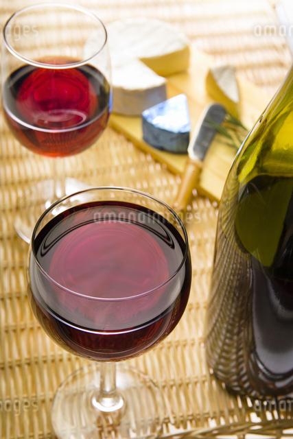 ワインのある食卓の写真素材 [FYI04135416]