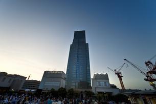 日本橋三越屋上よりの風景の写真素材 [FYI04135444]