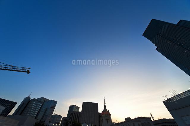 日本橋三越屋上よりの風景の写真素材 [FYI04135446]