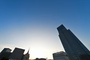 日本橋三越屋上よりの風景の写真素材 [FYI04135447]