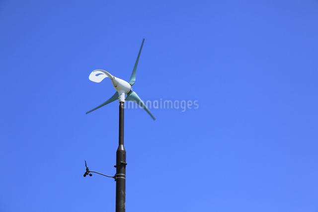 風力発電用小型風車の写真素材 [FYI04135567]