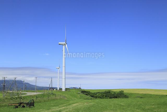 風力発電用風車の写真素材 [FYI04135572]