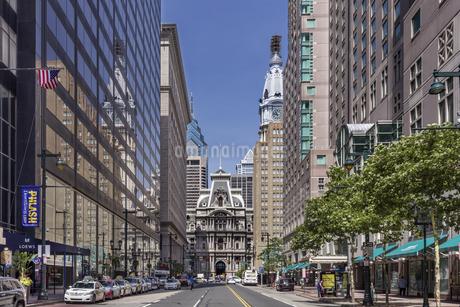 アメリカ、フィラデルフィア市街の写真素材 [FYI04135684]