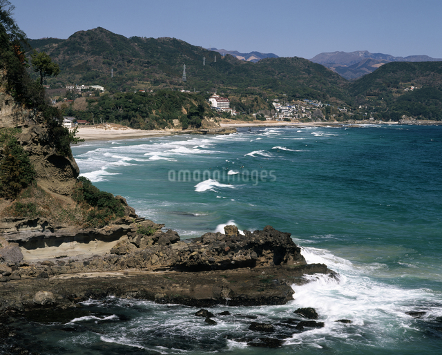 白浜海岸の写真素材 [FYI04135908]