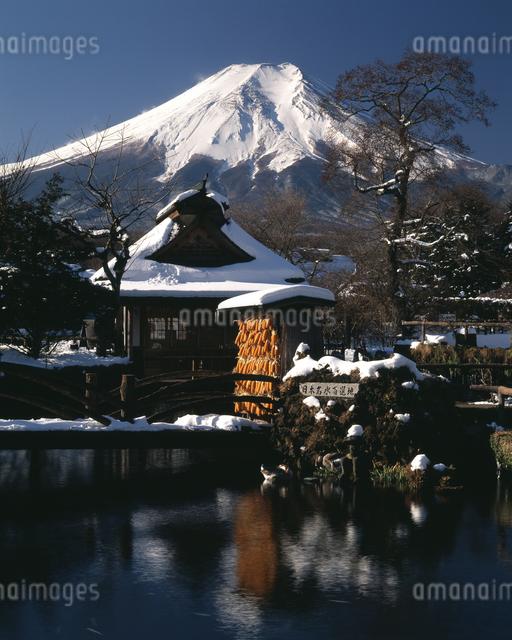 富士山の写真素材 [FYI04135946]