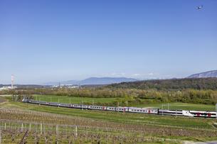 スイス、ジュネーブの田園風景の写真素材 [FYI04136013]