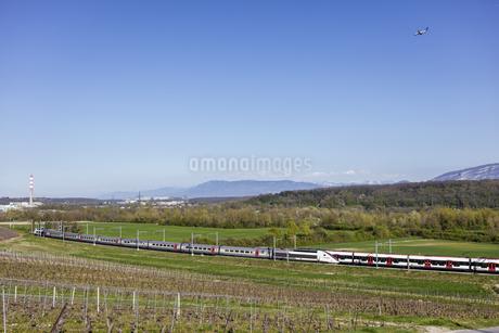 スイス、ジュネーブの田園風景の写真素材 [FYI04136014]