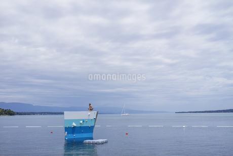 スイス、レマン湖の写真素材 [FYI04136020]