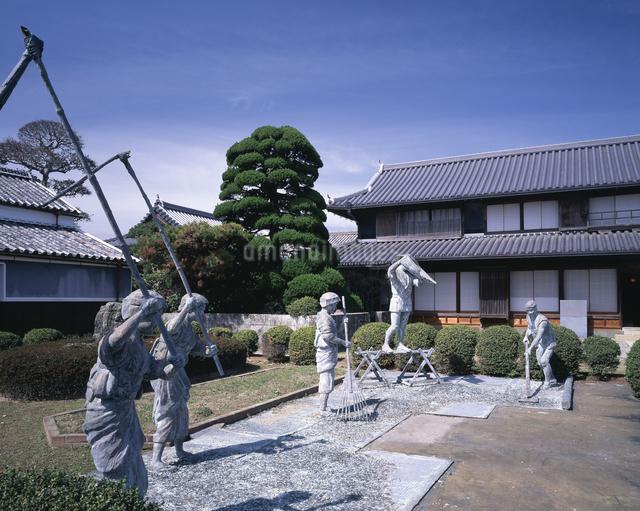 藍の館(旧奥村家)の写真素材 [FYI04136086]