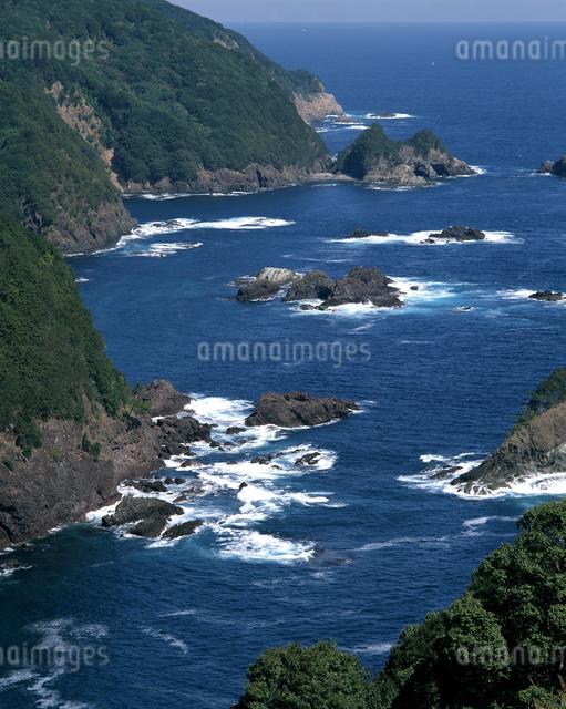 千羽海崖の写真素材 [FYI04136089]
