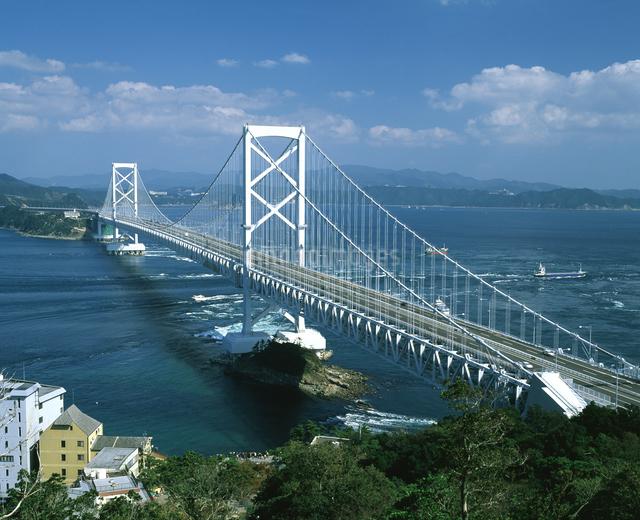 大鳴門橋の写真素材 [FYI04136096]
