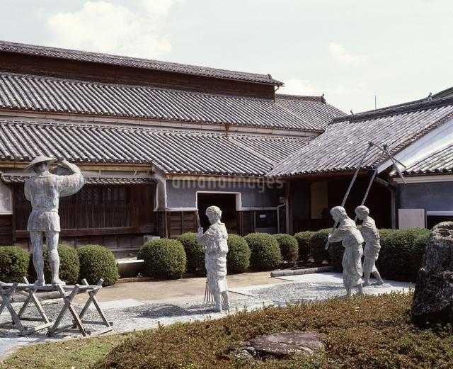 藍の館(旧奥村家)の写真素材 [FYI04136106]
