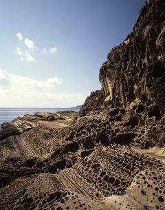 見残しの海岸の写真素材 [FYI04136116]