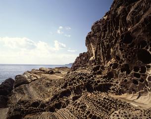 見残しの海岸の写真素材 [FYI04136117]
