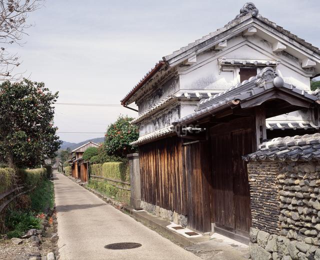 土居廓中(旧武家屋敷)の写真素材 [FYI04136129]