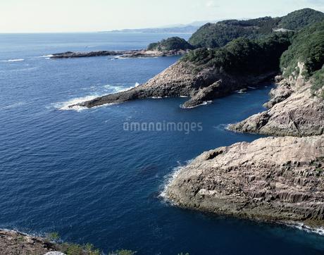 日向岬の海岸の写真素材 [FYI04136213]