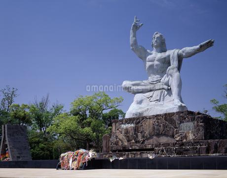 平和祈念像の写真素材 [FYI04136251]