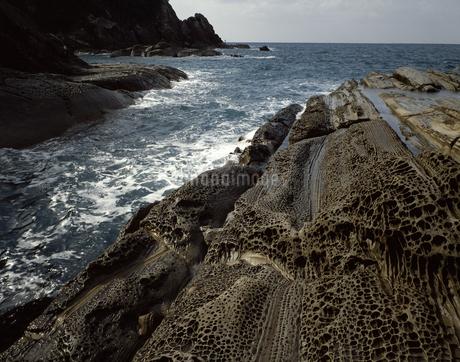 見残しの奇岩の写真素材 [FYI04136327]