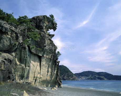獅子岩の写真素材 [FYI04136329]
