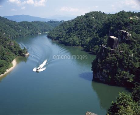 恵那峡の写真素材 [FYI04136334]