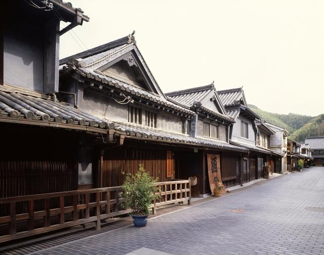 町並み(竹鶴酒造)の写真素材 [FYI04136467]