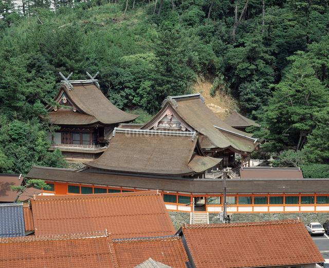 日御碕神社(重文)の写真素材 [FYI04136496]