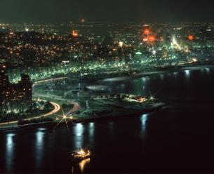 リオ市街 夜景の写真素材 [FYI04136516]