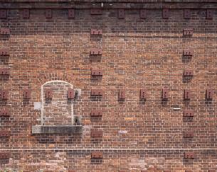 煉瓦の壁の写真素材 [FYI04136613]