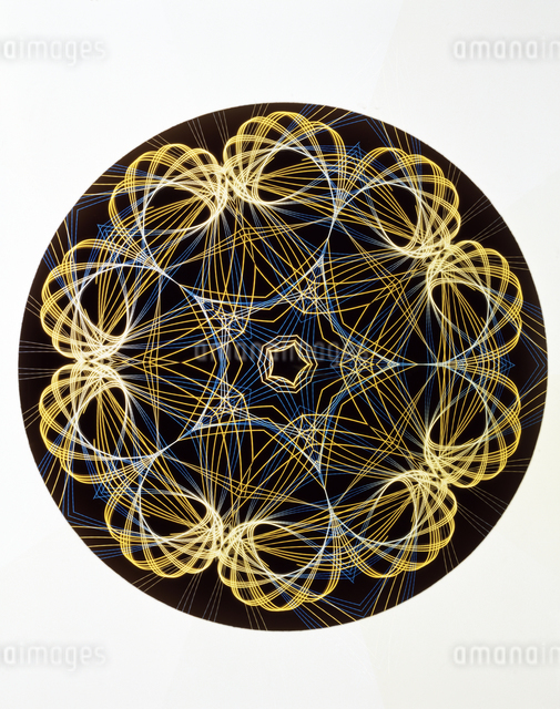 万華鏡(kaleidoscope)の写真素材 [FYI04136676]