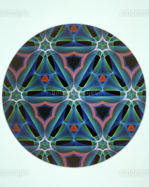 万華鏡(kaleidoscope)の写真素材 [FYI04136678]