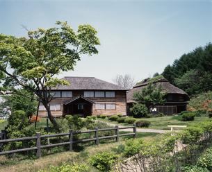 旧渋民小学校校舎の写真素材 [FYI04136728]