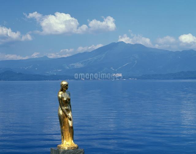 辰子姫の像の写真素材 [FYI04136739]