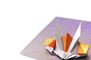 折り紙の兜の写真素材 [FYI04136898]