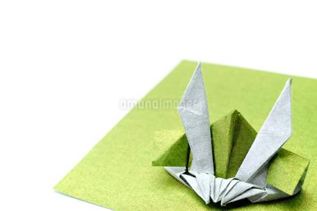 折り紙の兜の写真素材 [FYI04136899]