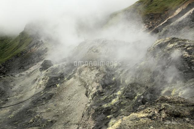 噴煙の写真素材 [FYI04136908]