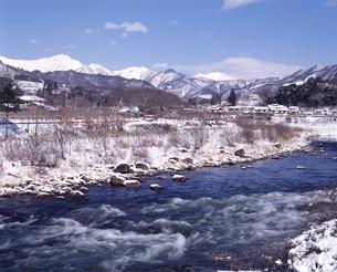冬の利根川の写真素材 [FYI04137009]